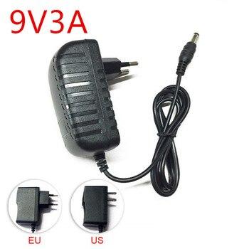 цена на DC 9 V Volt Power Adapter Supply 9V 1A 2A 3A 4A 5A Switching AC 220V to 9V DC Power Supply Adapter EU Plug For Led Light Lamp