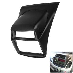 Car DVD Stereo Radio Panel Fascia Frame Mounting Kit for Mitsubishi Pajero Sport Triton L200 2014