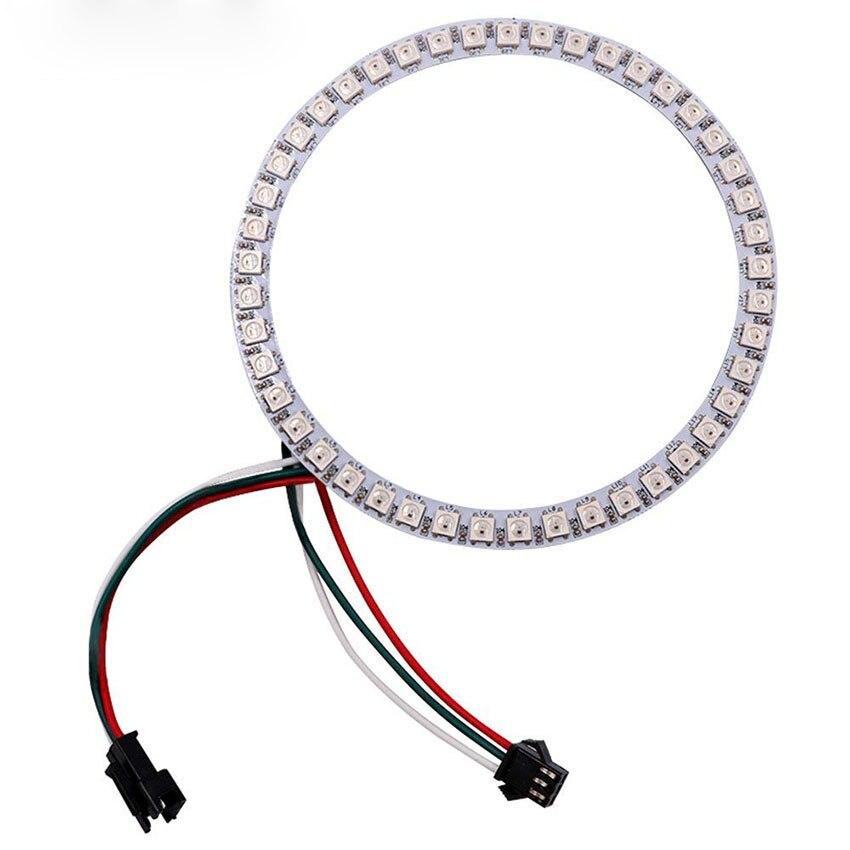1 pièces adressable WS2812B SK6812 16/35/45 LED s Pixel anneau Modules DC5V RGB couleur LED anneau lampe lumière pour arduino kit de bricolage