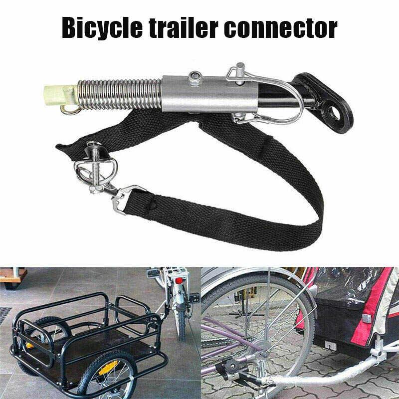 Baru Universal Trailer Sepeda Sepeda Trailer Hitch Bayi Hewan Peliharaan Hitch Linker Konektor Sepeda Rear Rack Aksesoris