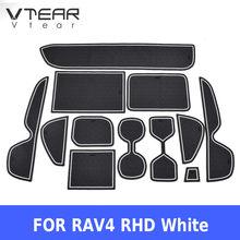Vtear Toyota RAV4 XA50 RAV 4 kapı oluk mat anti kayma kauçuk kapısı yuvası ped araba iç araba şekillendirici aksesuarları 2019 2020