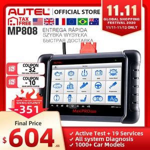 Image 1 - Autel MaxiPro MP808 Diagnostic Tool PK DS808 DS708 Maxisys MS906 Automotive Scanner Reset Service Key Coding OBD OBD2 Scanner