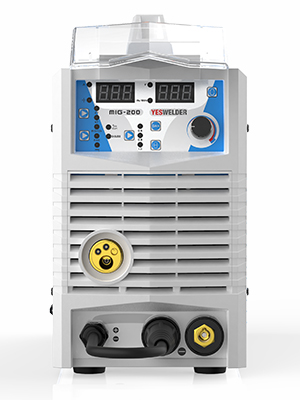 Equipo de Soldadura YESWELDER MIG200 200A sin Gas y ligero