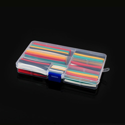 140pcs Heat Shrink kit 2:1 Sleeving Polyolefin Insulation Wire Cable Tubing Assorted Shrink kit with box