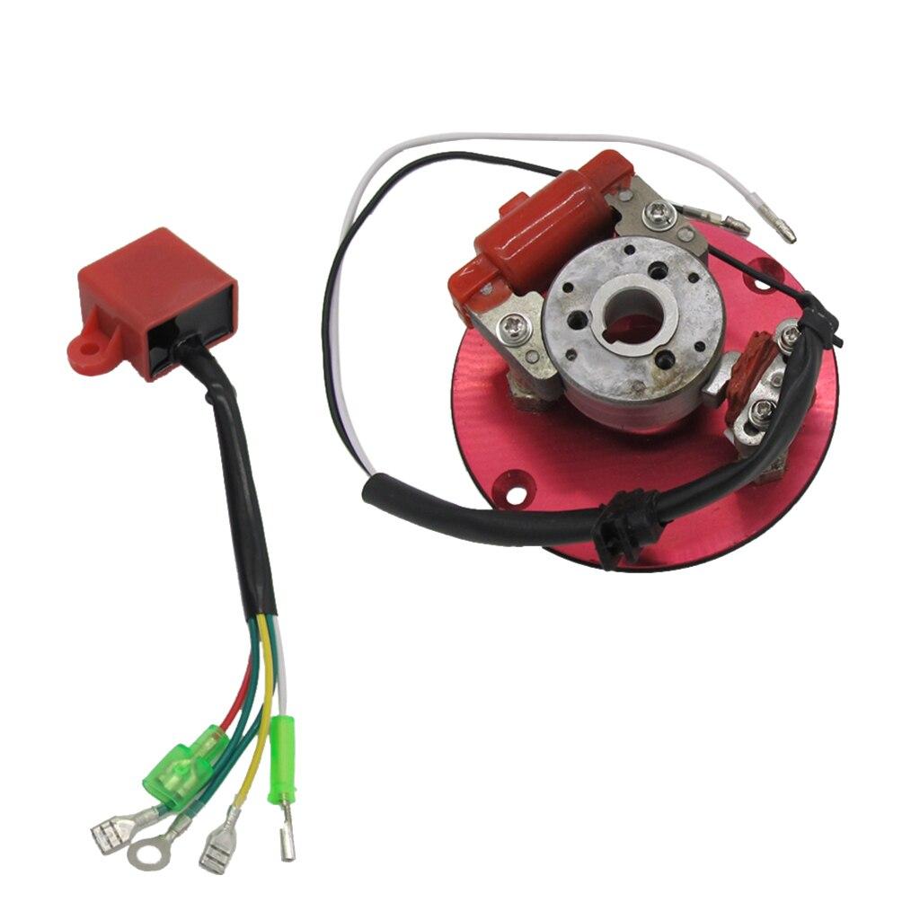 Комплект для сборки ротора и катушки зажигания для мотоцикла, 1 комплект, замена для скутера 50/110/125/150CC Go Kart ATV Quad