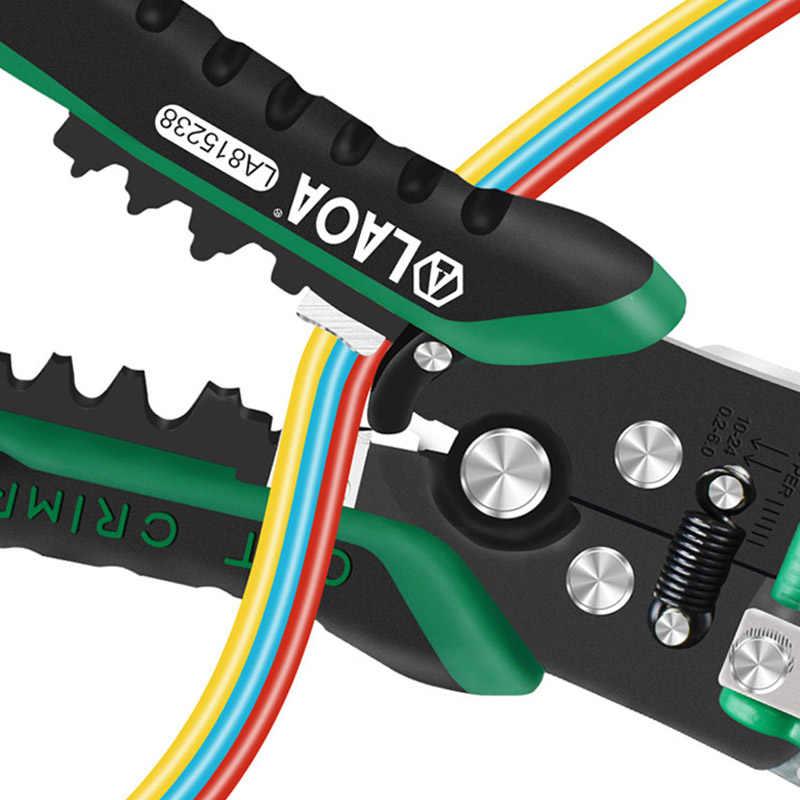 Laoa Striptang Professionele Elektricien Tang Automatische Strippen Tool Kabel Snijden Krimpen Terminal