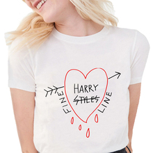 Harry Style Tops Tshirt Short Sleeve Harajuku Women T Shirt Summer 90s Graphic U