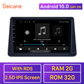 Мультимедийный плеер Seicane, Android 10,0, GPS, 2DIN, головное устройство, радио, аудио для Mitsubishi Pajero Gen2 2002-2014, поддержка Carplay