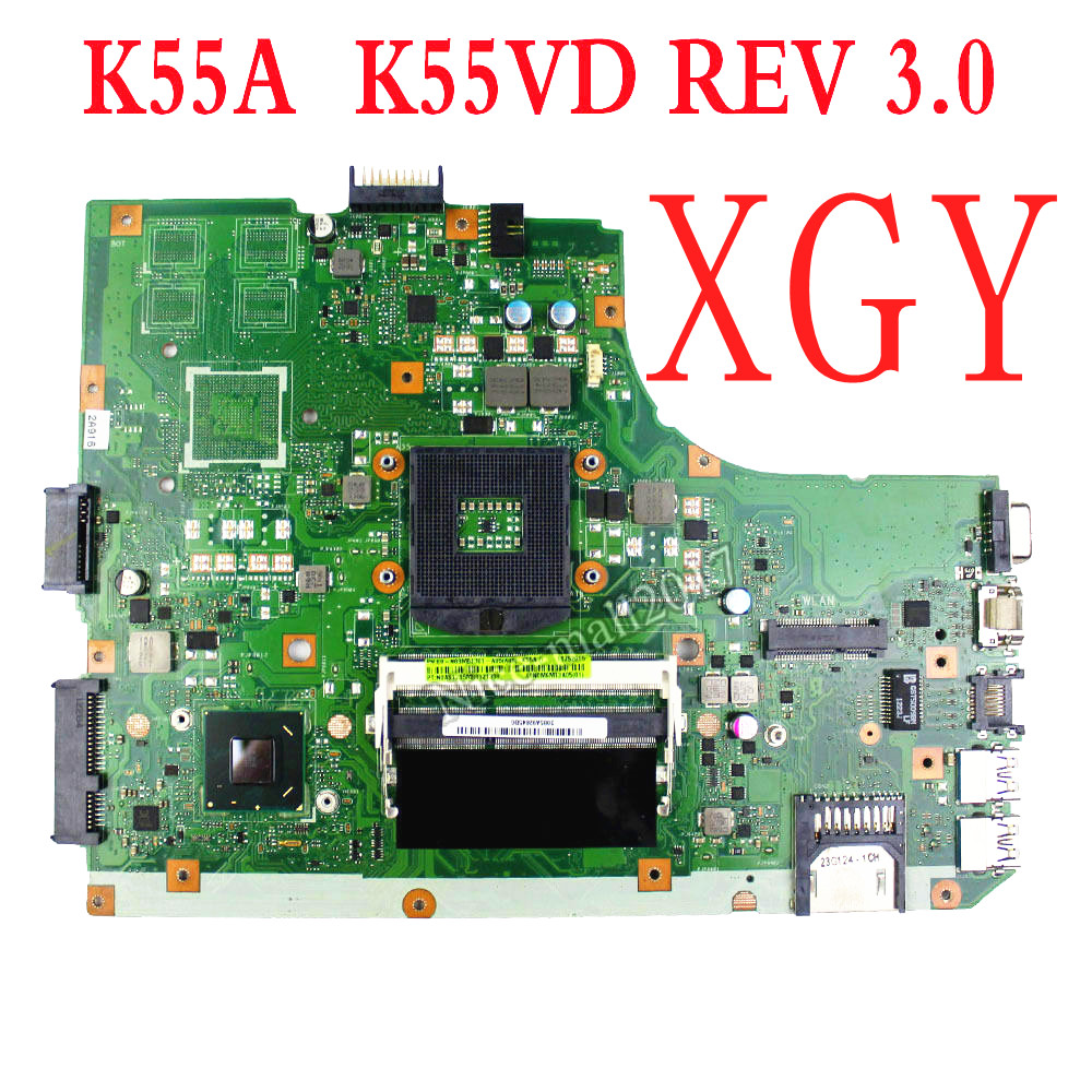 For Asus K55a U57a Motherboard Mainboard K55vd 60 N89mb1301 Motherboard 100 Test Ok Laptop Motherboard Aliexpress