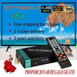 Newtest gtmedia V8X HD 1080P Satellite Receiver upgraded gtmedia V8 nova/honor Built-in WIFI Support DVB-S/S2/S2X CA Card Solt