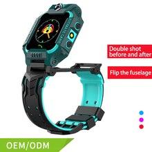 цена на Kids Smart Watch Anti-lost Safe Sos Call  Dual Camera SIM Card GPS Tracker With GSM Touch Screenfor Boy Girl Kids SmartWatch
