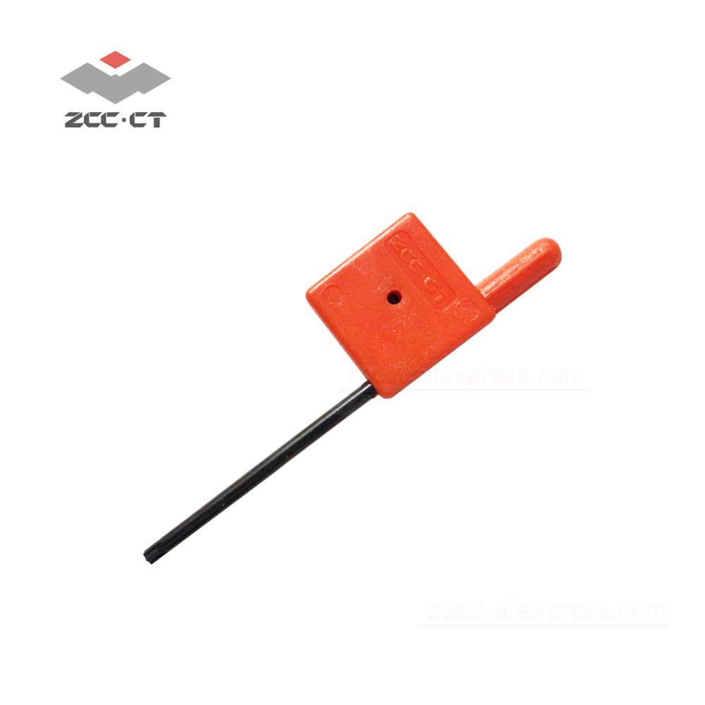 1pc ZCC Screw Key WT08IP ZCCCT Cnc Bolt Wrench For Milling Cutter EMP01