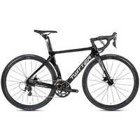 TWITTER-bicicleta de carretera de carbono, 700C, 16/22 velocidades, freno de disco hidráulico, desviador, 105/R7000