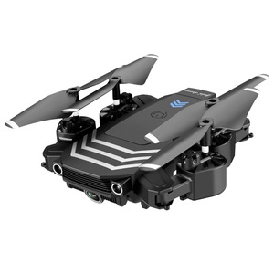 Image 4 - XKJ New RC Drone LS11 WIFI FPV With HD 4K Camera Hight Hold Mode One Key Return Foldable Arm RC Quadcopter Drone For Gift
