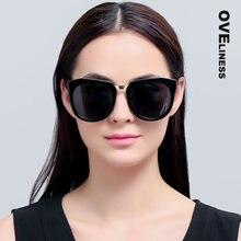 Модные Роскошные винтажные поляризационные солнцезащитные очки