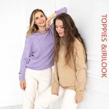 Toppies秋2020女性のウールのセーターカシミヤニットプルオーバーセーターラウンドネック高品質ジャンパー