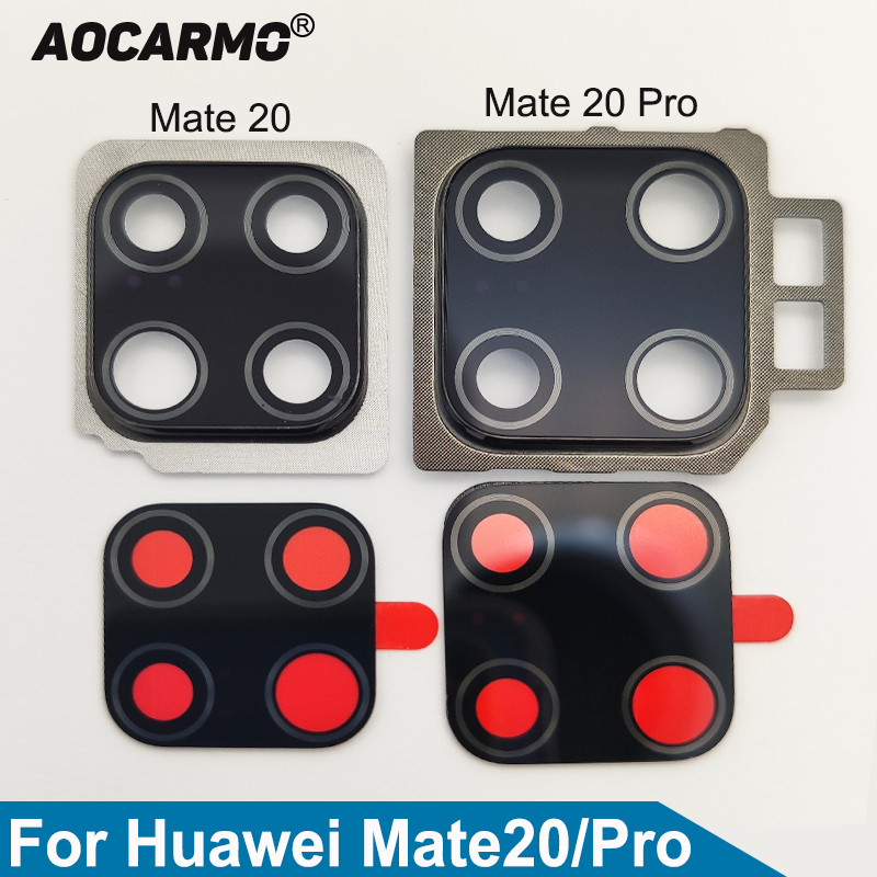 Aocarmo Cover Mate Sticker Camera-Lens Adhesive Huawei Rear Back with Frame Replacement-Part