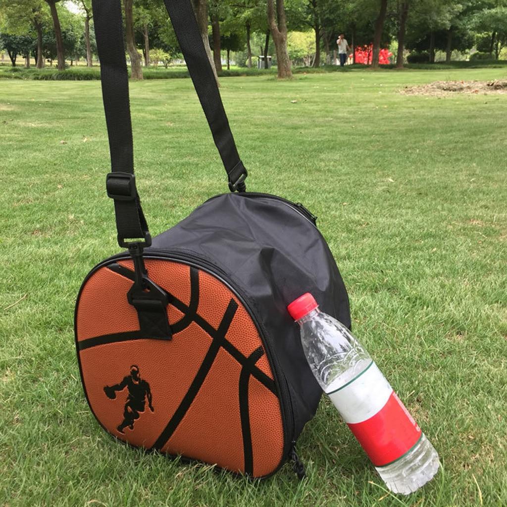 Портативная баскетбольная сумка, Высококачественная сумка для хранения баскетбола из ПУ, спортивная сумка для фитнеса, сумка для хранения ключей, водное стекло и обувь k2-2