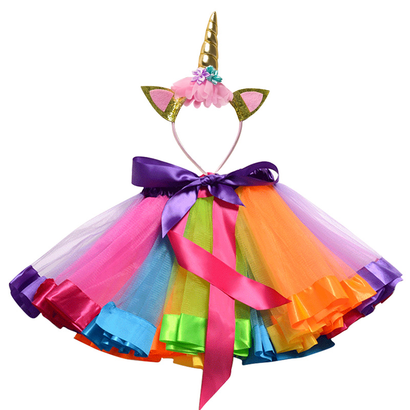 Children Clothing Sets for Baby Girls Summer 2019 New Fashion Unicorn Tops Kid Clothes Girl Tees Princess Birthday Sets Clothes 5
