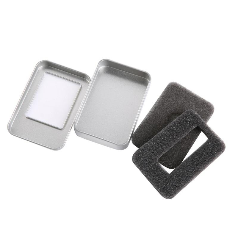 Fingertip Gyro Tin Box Round Box Small Clover Box