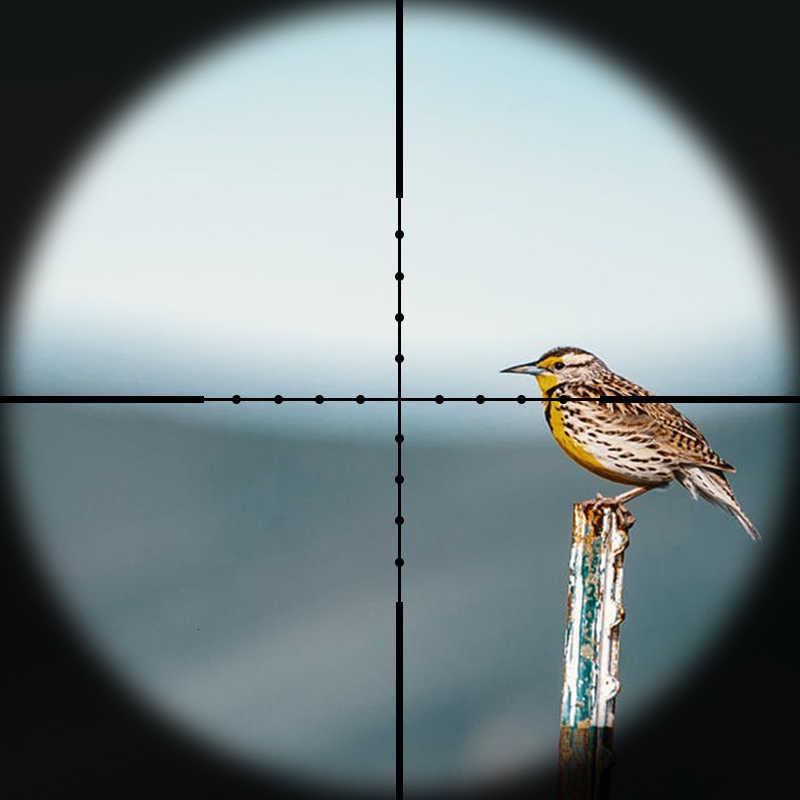 DIANA 4-16X42AO Rifle táctico alcance Mil Dot retícula óptica de caza mira de aire pistola de proyección mira para rifle de caza