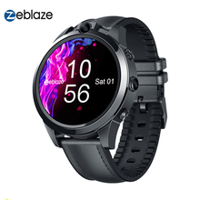 Zeblaze THOR 5 PRO Ceramic Bezel 3GB+32GB 800mAh GPS Watches Gift Leather Straps