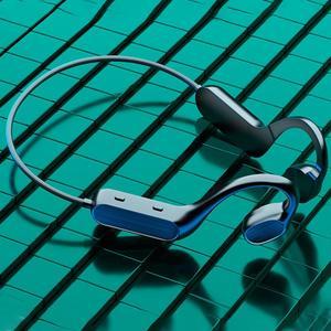 Беспроводные перезаряжаемые наушники BL Bluetooth 5,1 с костной проводимостью и шумоподавлением, высококачественные стерео наушники с ушным крючком для занятий спортом и бегом