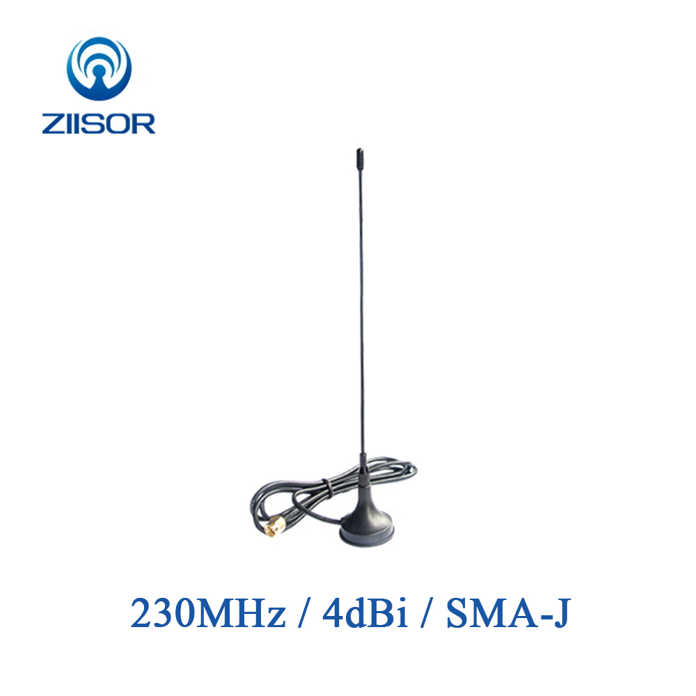 Outdoor 230MHz Antenna with Magnetic Base SMA Male RG58 Feeder High Gain 4dBi Aerial Z33 B230SJ20-in Communications Antennas from Cellphones & Telecommunications