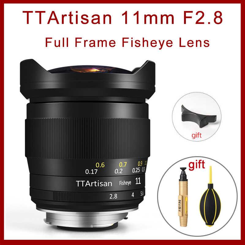 TTArtisans 11mm F2.8 Fisheye Full Fame Lens for Leica L Mount ...
