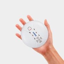 Kerui Detector de humo inalámbrico con conexión, Sensor fotoeléctrico sensible para seguridad para hogar, sistema de alarma