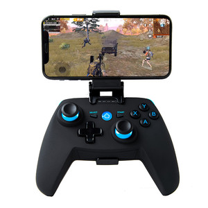 New X1 Smurf Wireless Bluetooth Direct Gamepad Sensitive Mobile Game PUBG Controller Suitable For Android IOS Computer Upgrade G