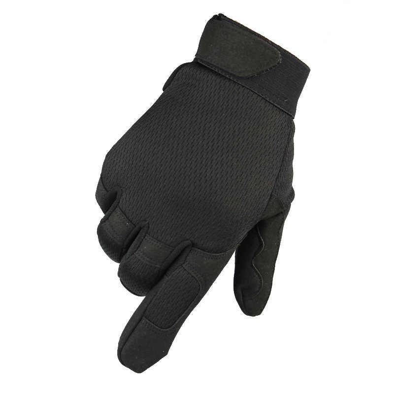 Sport esterni di Campeggio Guanti Guanti Pieni Della Barretta Guanti Da Trekking Traspirante per la Caccia Ciclismo Alpinismo Camo Army Tactical Gloves