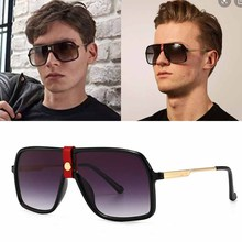 FEISHINI 2020 Shop Counters Big Frame Shield Sunglasses Men