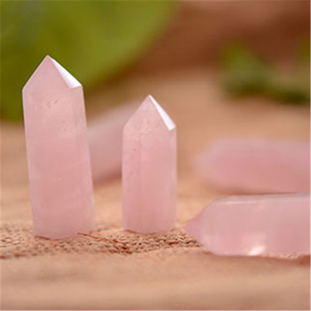 Natural crystal rose quartz crystal point pink opal crystal healing stone wand obelisk energy pyramid love stone trinket home de 10 50 100pcs wholesale 5 6cm natural amethyst crystal wand stone quartz point colorful fluorite obelisk reikichakra healing gift