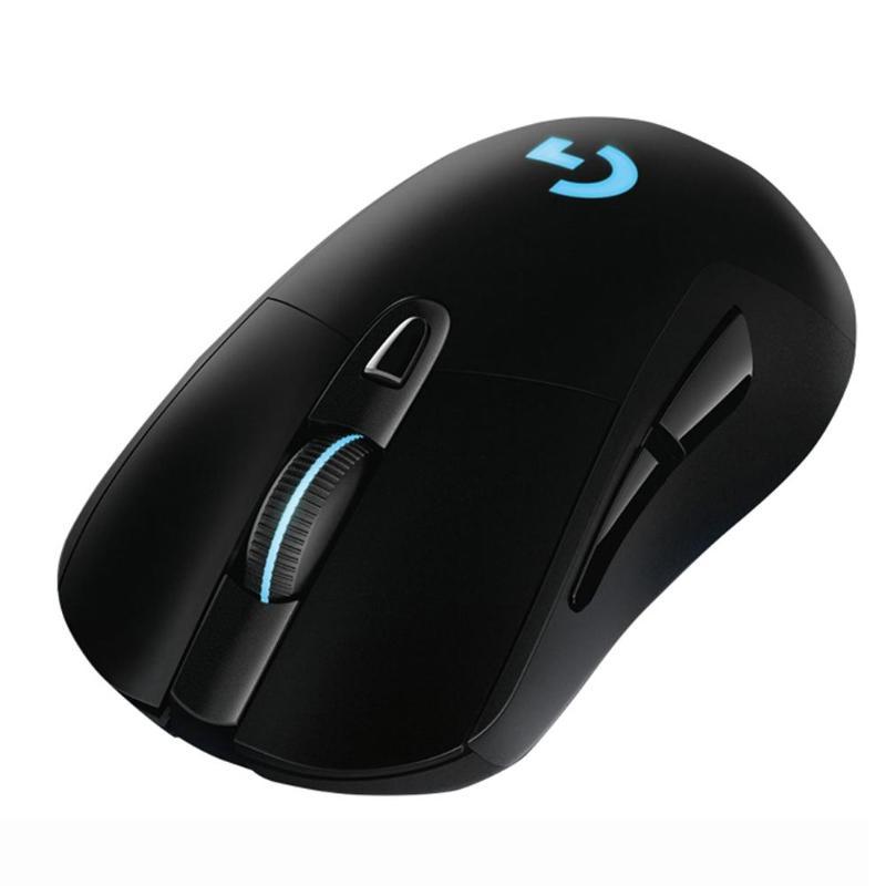 Беспроводная мышь logitech G703 LIGHTSPEED 16000 dpi светодиодный RGB оптическая игровая мышь геймерские профессиональные мыши с сенсором Hero для геймера