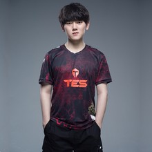 Lol lpl 2020 s10 esports jérsei tes lgd jdg sn ig rng jogador jérsei uniforme personalizado id nome camiseta