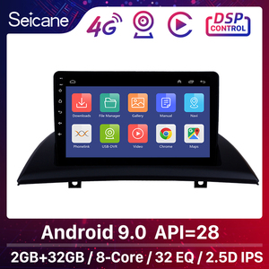 Seicane 9 inch Android 9.0 IPS Car GPS Head Unit Player For 2004-2007-2012 BMW X3 E83 2.0i 2.5i 2.5si 3.0i 3.0si 2.0d 3.0d 3.0sd