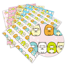 Hairbow-Accessory-Decoration Crafts Printed 22x30cm Faux-Leather Anime Cute A4 for Synthetic