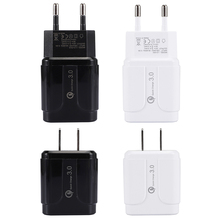 Single USB QC3.0 Mobile Phone Charger Fast Charge Travel Sma