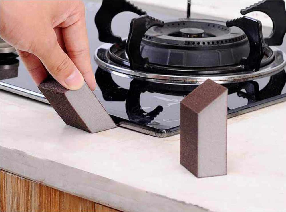 1-10 قطعة ماجيك فرشاة ورق مفحم إسفنجيّة ماجيك الإسفنج ممحاة المطبخ غسل تنظيف للمطبخ أداة تنظيف غسل اكسسوارات