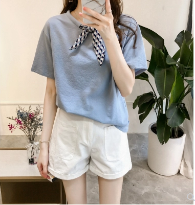 Loose size New Summer T Shirt Women White Elasticity Woman Clothes Oversize Tops New Tshirt Maxi Female Short Sleeve Tee White 3