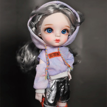 BJD Doll 1/6 SD Dolls Full set Ball Jointed Dolls with Clothes Outfit Shoes Wig Hair Makeup