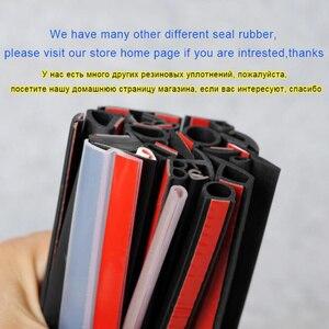 Image 5 - Car Door Seal Automotive Gray Rubber Seal Auto Sound Insulation Shock  Sealant Sealing Strip
