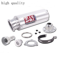 Universal Modified Motorcycle Exhaust Pipe For WRS Yoshimura M4 Exhaust Muffler CB400 CBR400 VFR400 High Quality