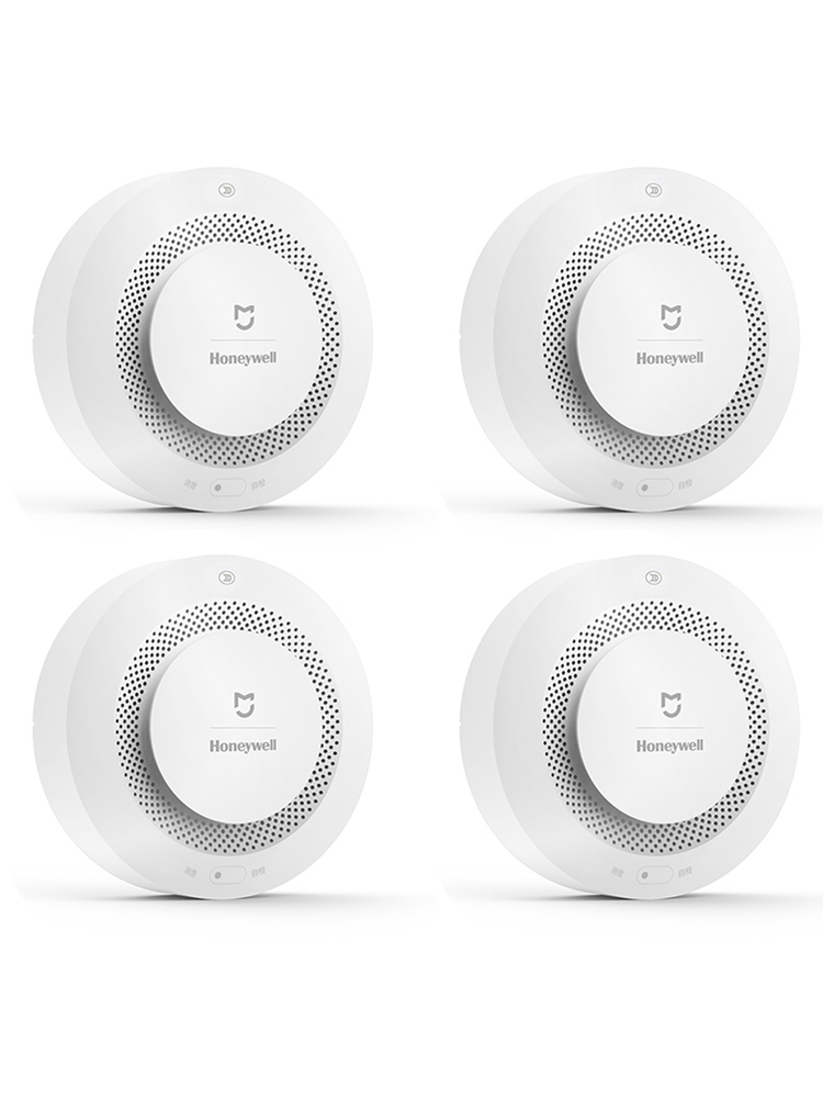 Gas-Detector Fire-Alarm Smoke-Sensor Mijia Honeywell App-Control Smart Gateway-2 Home-Security
