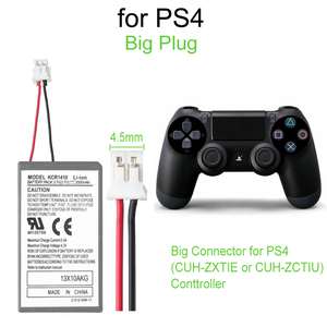 Image 2 - 4pcs 2000mAh Battery Pack + USB Charger Cable For Sony Gamepad PS4 Battery Dualshock4 Wireless controller Rechargeable Batteries