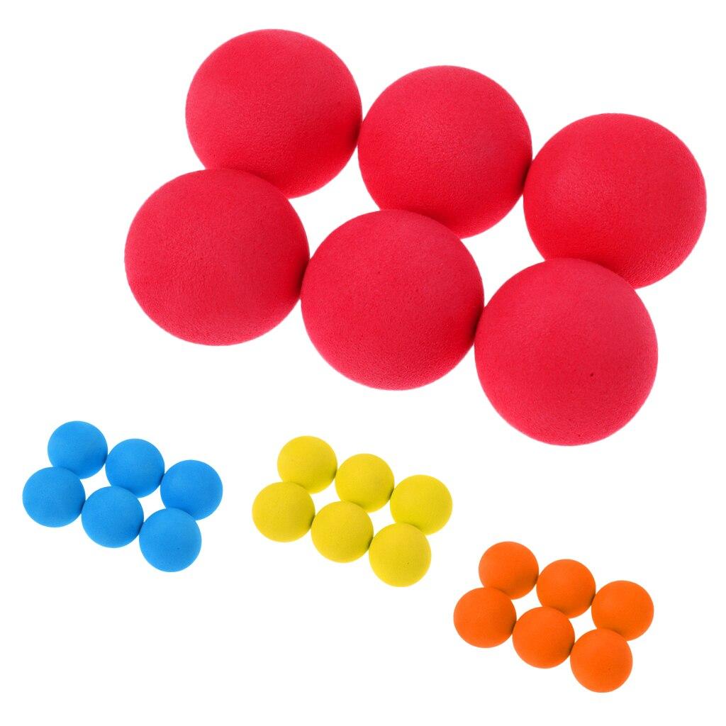 6 Pieces Portable Elastic Golf Balls Professional Tennis Training Ball Practice Training Golf Balls Golf Accessory