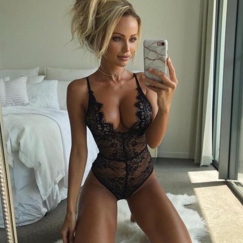 Hot Women Sexy Soft Exotic Lace Dress Bodysuit Nightwear Fashion Casual Underwear Babydoll Sleepwear Plus Size