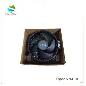 Image 5 - Processador amd ryzen 5 1400 r5 1400 3.2 ghz, cpu quad core, soquete am4 com refrigerador ventilador