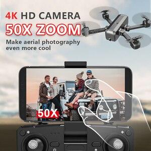 Image 4 - ZLL SG706 Drone 4K FPV Camera drone Professional 720P 1080P dual camera 50X zoom optical flow Foldable Quadcopter VS E58 dron